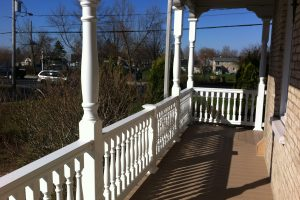 PVC deck boards and accessories Sandalwood color