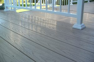 PVC deck boards & accessories, Driftwood color