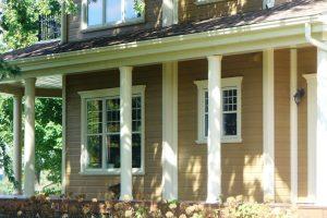 Windows and doors surrounds in polyurethane