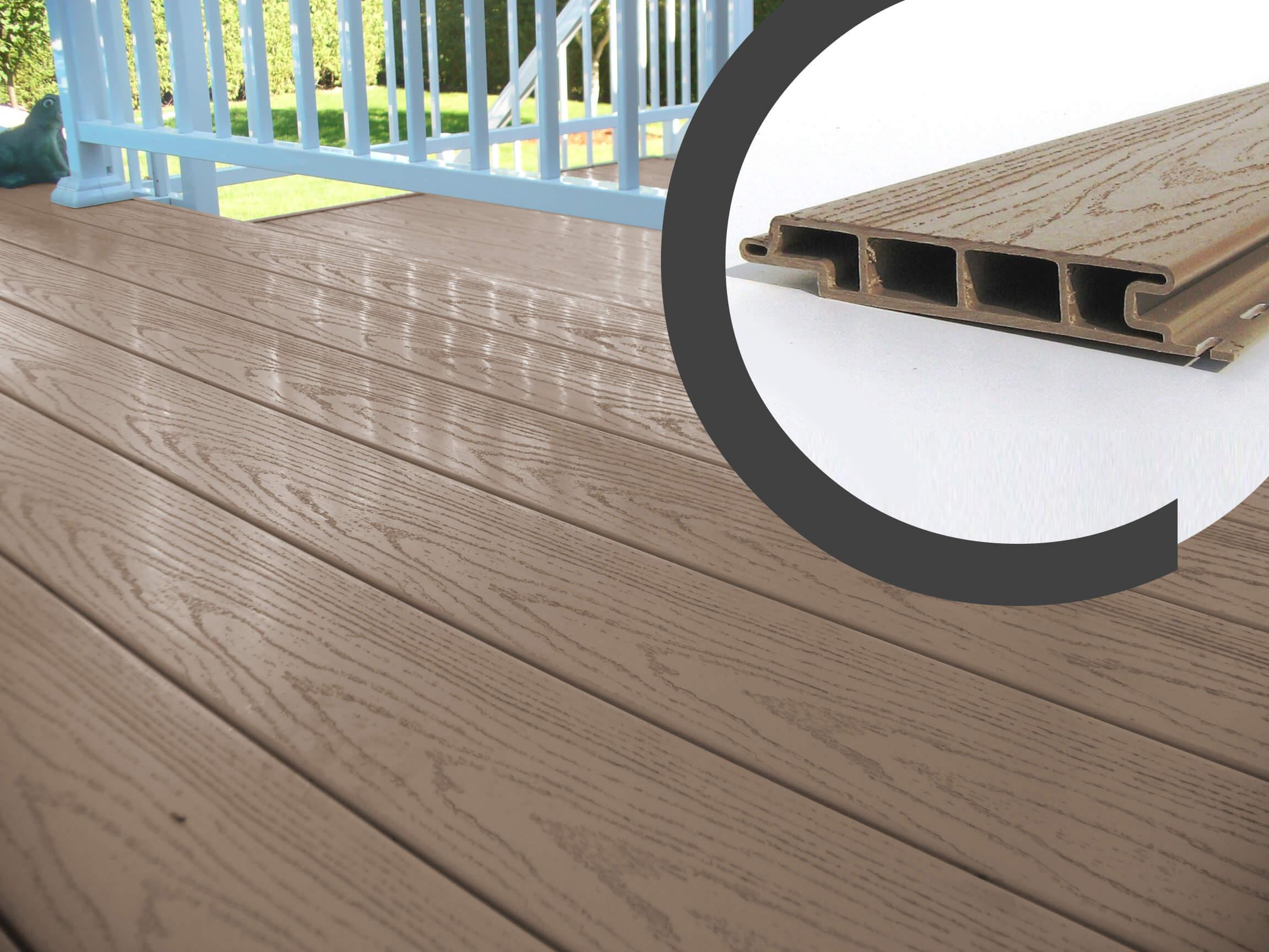 plancher de balcon embouvet 100 pvc cam mat. Black Bedroom Furniture Sets. Home Design Ideas