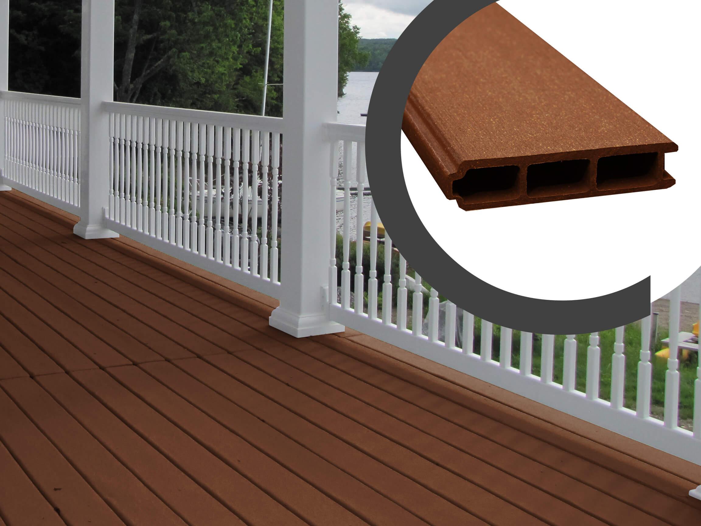 Planches de balcon embouvet es idekk cam mat for Planche pvc exterieur