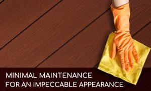 minimal maintenance deck patio Camémat