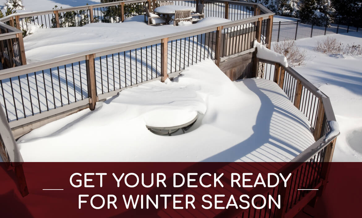 preparing deck winter