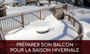 préparer balcon hiver