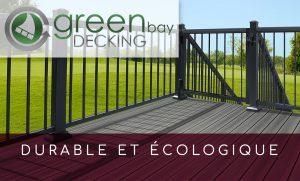 Green Bay Decking de Camémat : Un produit durable et écologique